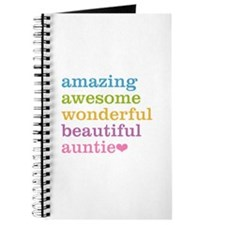 Auntie - Amazing Awesome Journal