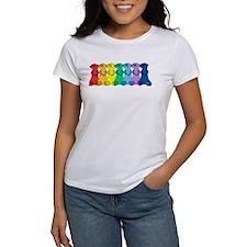 Rainbow Ferrets 3 T-Shirt