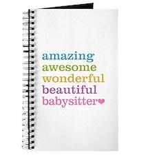 Babysitter - Amazing Awesome Journal