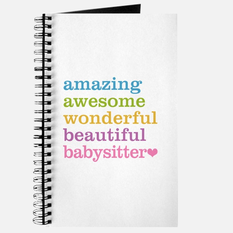 Babysitter - Amazing Awesome Journal