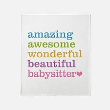 Babysitter - Amazing Awesome Throw Blanket