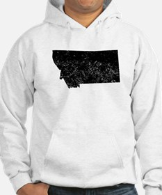 Distressed Montana Silhouette Hoodie