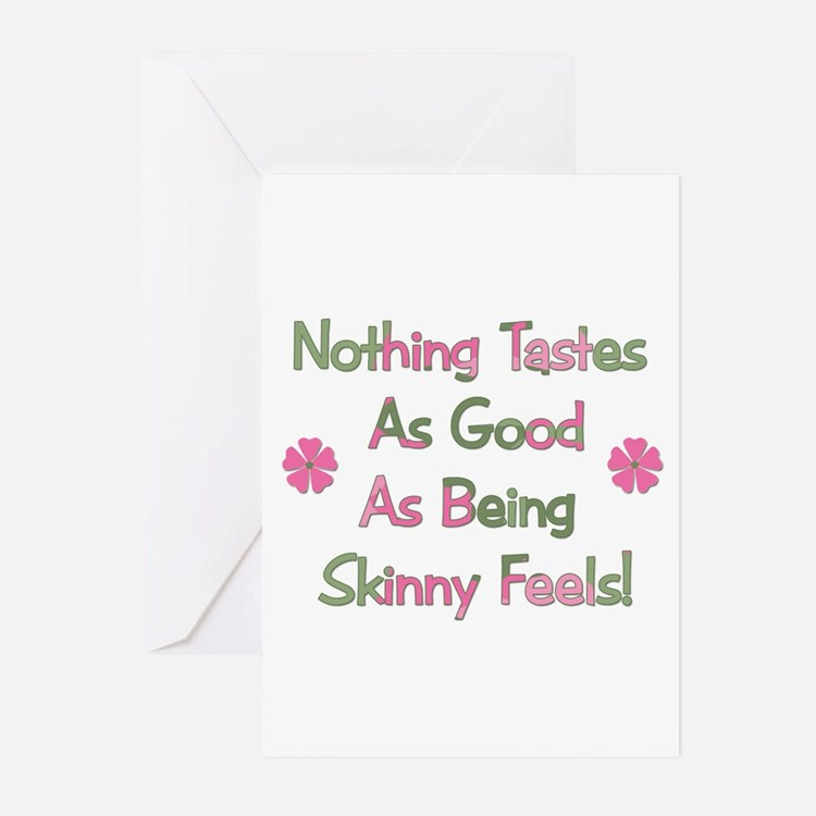 Wanna Be Skinny Greeting Cards (Pk of 10)