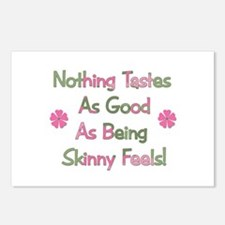 Wanna Be Skinny Postcards (Package of 8)