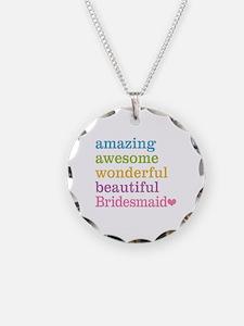 Bridesmaid - Amazing Awesome Necklace