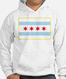 Flag of Chicago Stars and Stripes Hoodie