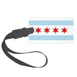Chicago flag Luggage Tags