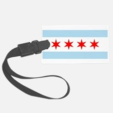 Flag of Chicago Stars and Stripes Luggage Tag