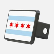 Flag of Chicago Stars and Stripes Hitch Cover