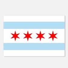 Flag of Chicago Stars and Stripes Postcards (Packa