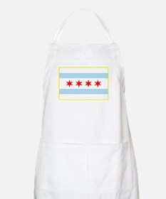 Flag of Chicago Stars and Stripes Apron