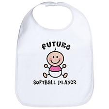 Future softball player Bib
