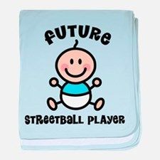 Future streetball baby blanket