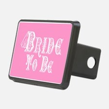 Bride To Be With Veil, Fancy White Type Pink Hitch