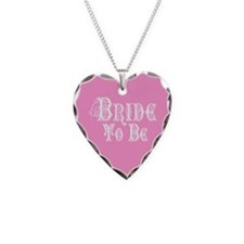Bride To Be With Veil, Fancy White Type Pink Neckl