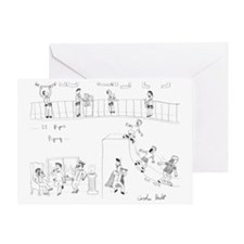 Eleven Pipers Piping Greeting Card