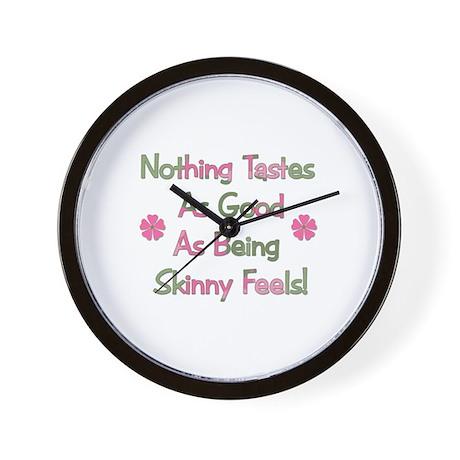 Wanna Be Skinny Wall Clock