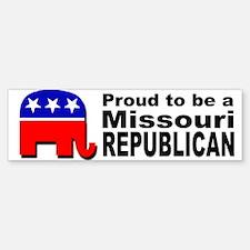 Proud Missouri Republican Bumper Bumper Sticker