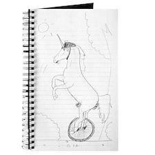 Unicycling Unicorn Journal