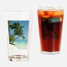 Palm 001 Drinking Glass