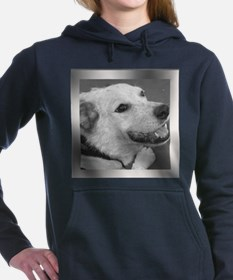 Your Photo in a Silver Frame Women's Hooded Sweats