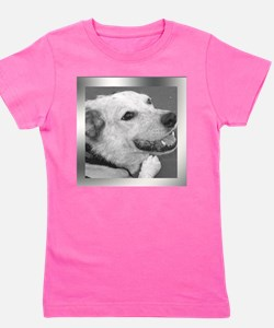 Your Photo in a Silver Frame Girl's Tee