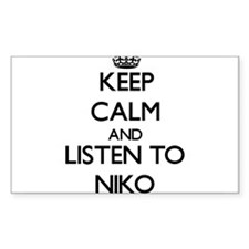 Keep Calm and Listen to Niko Decal