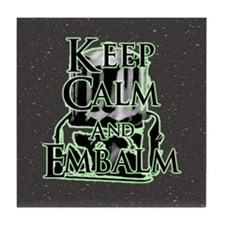 Keep Calm and Tile Coaster