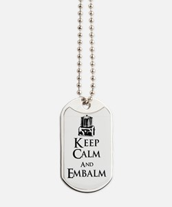 Cool Mortician Dog Tags