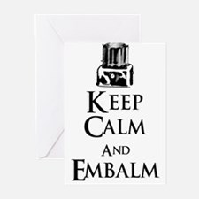 Cute Funeral director Greeting Cards (Pk of 10)