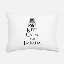 Cute Embalmer Rectangular Canvas Pillow