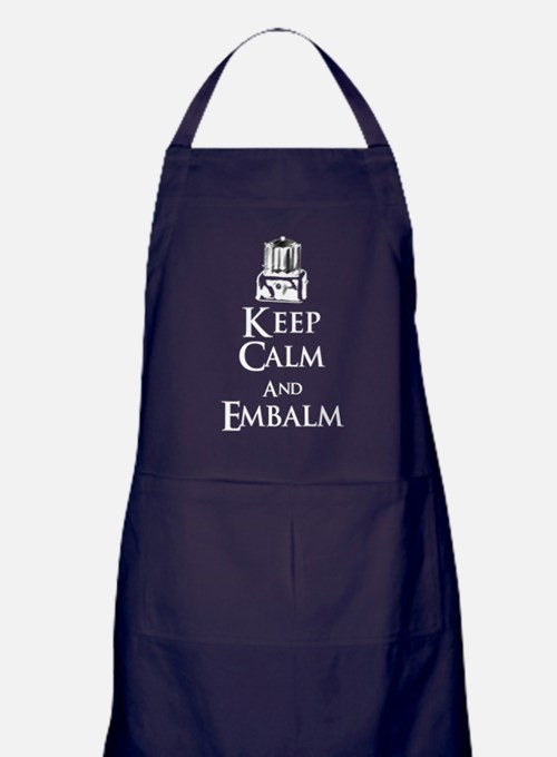 Cute Mortician Apron (dark)