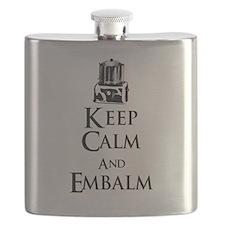 Cute Mortician Flask