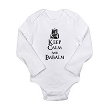 Keep Calm and Embalm Light Body Suit