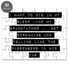 I Want To Die In My Sleep Puzzle
