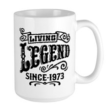 Living Legend Since 1973 Mug