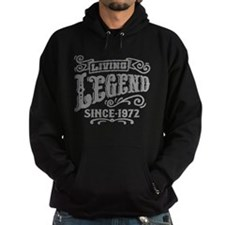 Living Legend Since 1972 Hoodie