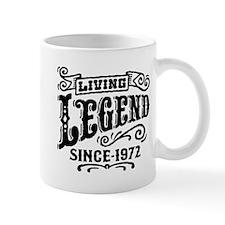 Living Legend Since 1972 Mug