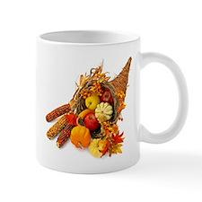 Thanksgiving Cornucopia Small Mug