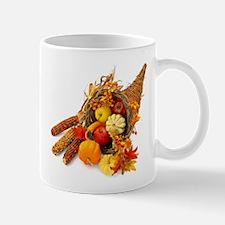 Thanksgiving Cornucopia Small Mugs