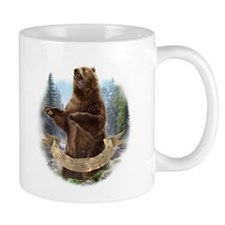 Grizzly Bear Mugs