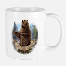 Grizzly Bear Small Small Mug
