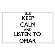 Keep Calm and Listen to Omar Decal