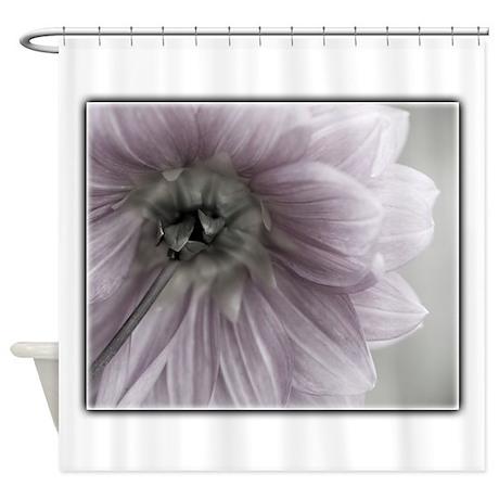 Light pink flower shower curtain by oliviaphotoart for Light pink shower curtain