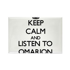 Keep Calm and Listen to Omarion Magnets