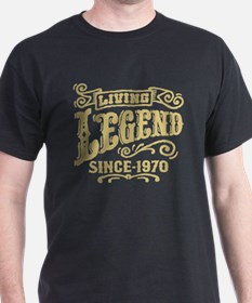 Living Legend Since 1970 T-Shirt