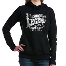 Living Legend Since 1970 Women's Hooded Sweatshirt