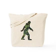 Camo Bigfoot Tote Bag