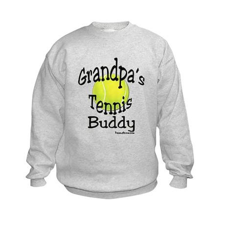 TENNIS GRANDPA'S BUDDY Kids Sweatshirt