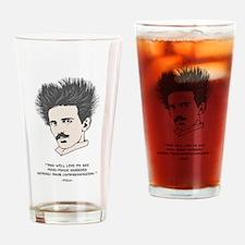 Tesla -Horrors Drinking Glass